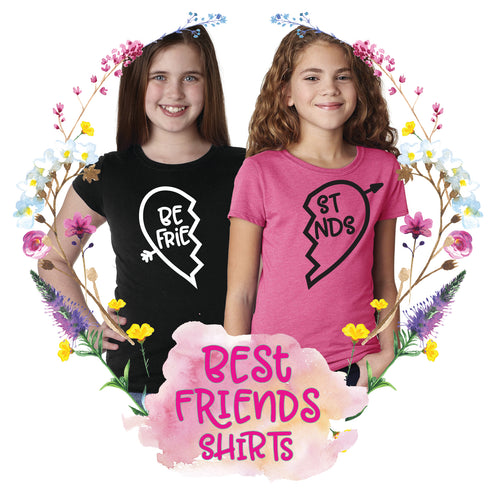 Best Friends Girls Tee Set