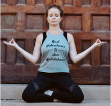 Load image into Gallery viewer, God Vibrations & Son Salutations Tank Top