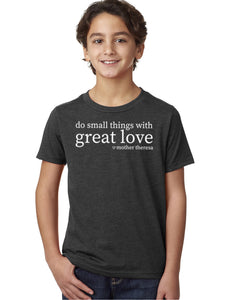 Great Love Unisex Kids Tee