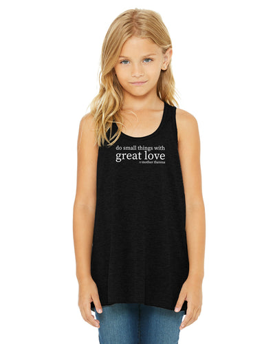 Great Love Girls Flowy Tank