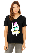 Load image into Gallery viewer, Life Jesus Style Graffiti Tee