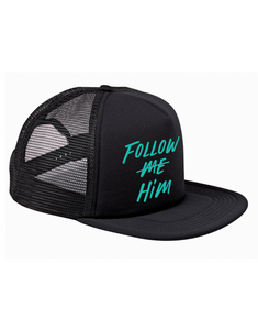 Follow Him Trucker Hat