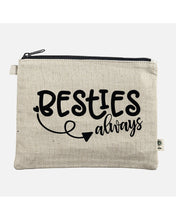 Load image into Gallery viewer, Besties Always Hemp Pouch