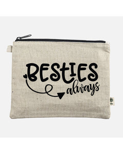 Besties Always Hemp Pouch