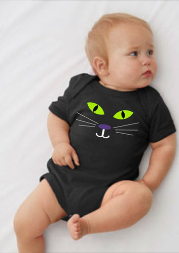 Little Black Cat | Child's Tee or Onesie