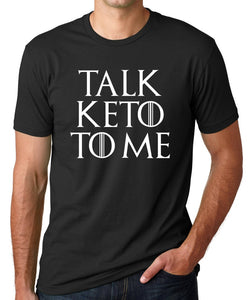 Talk Keto To Me | Super Soft Men's Tee