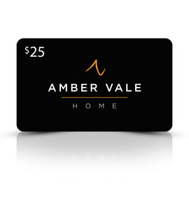 Amber Vale Home Gift Card - $25