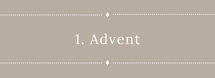 1. Advent Anbefalinger