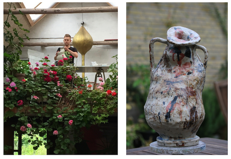 Intern at WAUW design ceramic studio in Copenhagen. Handmade ceramics made in Denmark.