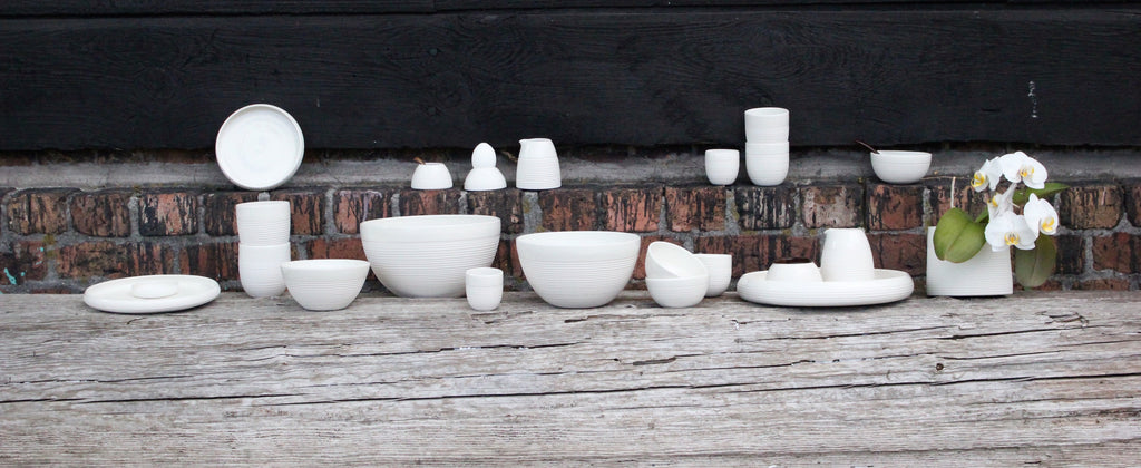 RAW handmade ceramic cups from WAUW design.