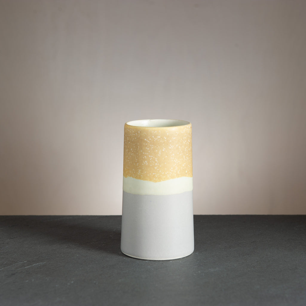 Sustainable Vase - Grey/Brownish