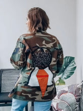 Load image into Gallery viewer, Unisex Military Hand Painted Jacket