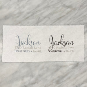 JACKSON Guest Towel (two tone)