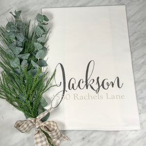 JACKSON Flour Sack Towel (two tone)
