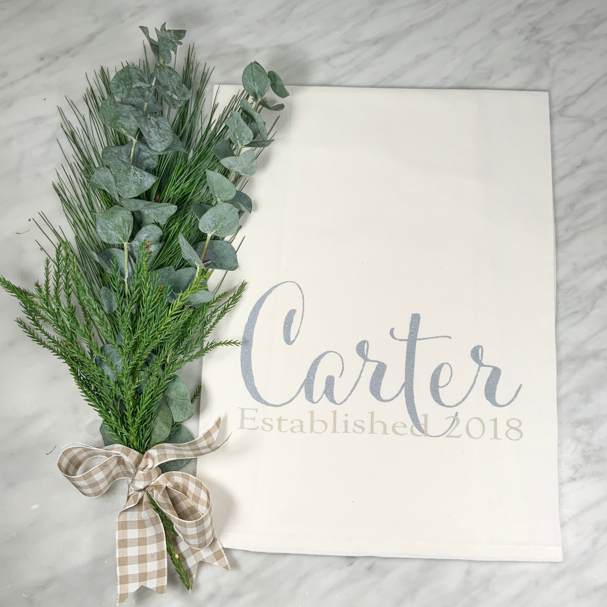 CARTER Flour Sack Towel (two tone)