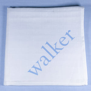 BABY BOY SWADDLE BLANKET w/ name