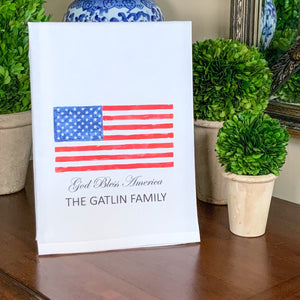 U.S.A. FLAG Flour Sack Towel