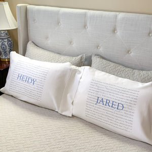 Scripture Pillowcase...Name in ALL CAPS PRINT