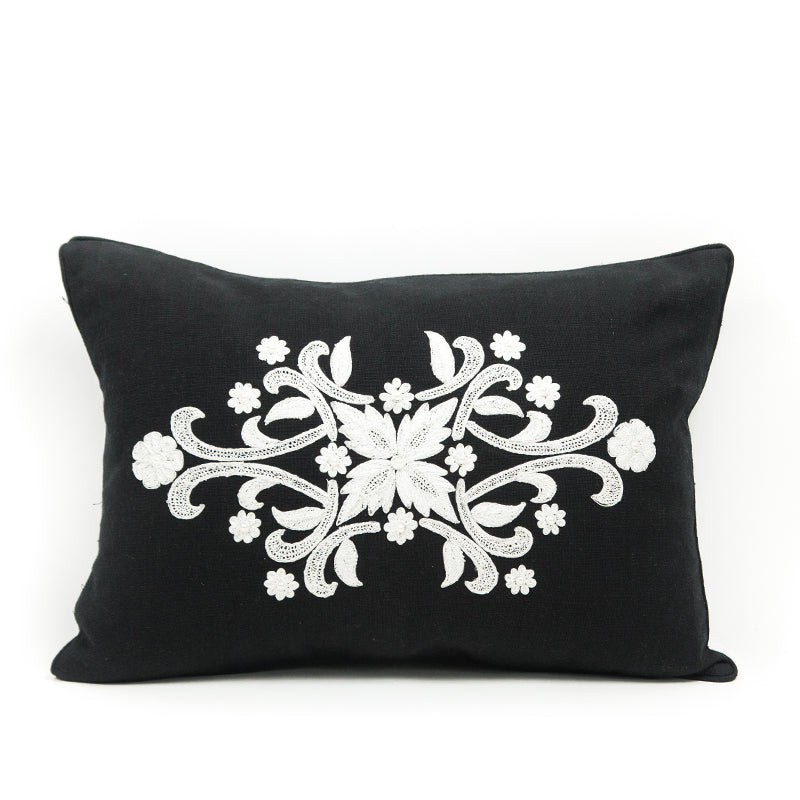 Imperial Threadwork Pearl Cushion Cover