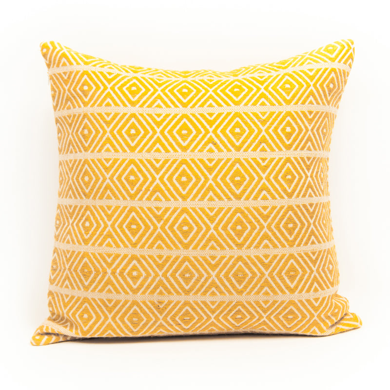 Aztec Eclectic Mustard Cushion Cover
