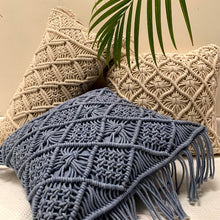 Load image into Gallery viewer, Macrame Cushion Cover 02
