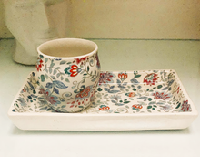 Load image into Gallery viewer, Ceramic Mughal Biscuit Tray