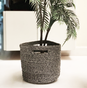 Versatile Cotton Rope Basket