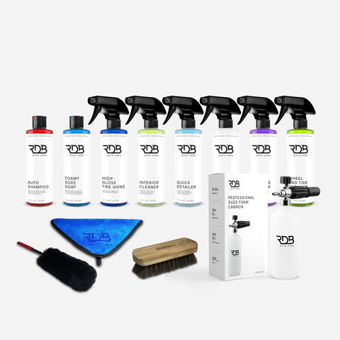COMPLETE CAR KIT WITH FOAM CANNON
