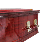 Load image into Gallery viewer, Bliss Mahogany Coffin