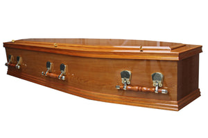 Bliss Oak Coffin