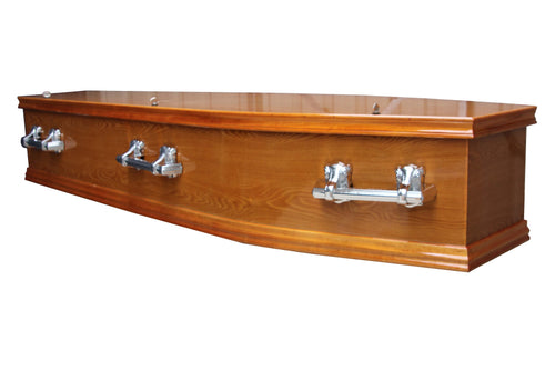 Comfort Oak Coffin