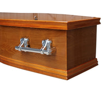 Load image into Gallery viewer, Comfort Oak Coffin