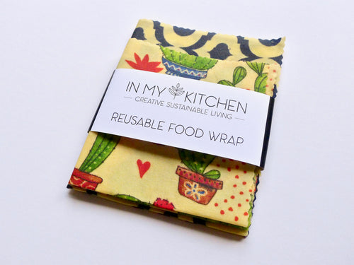 Reusable Food Wrap (2 pack)