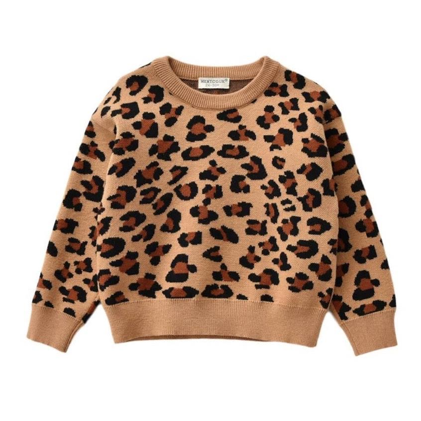 PRESALE Georgia Luxe Knit Leopard Sweater