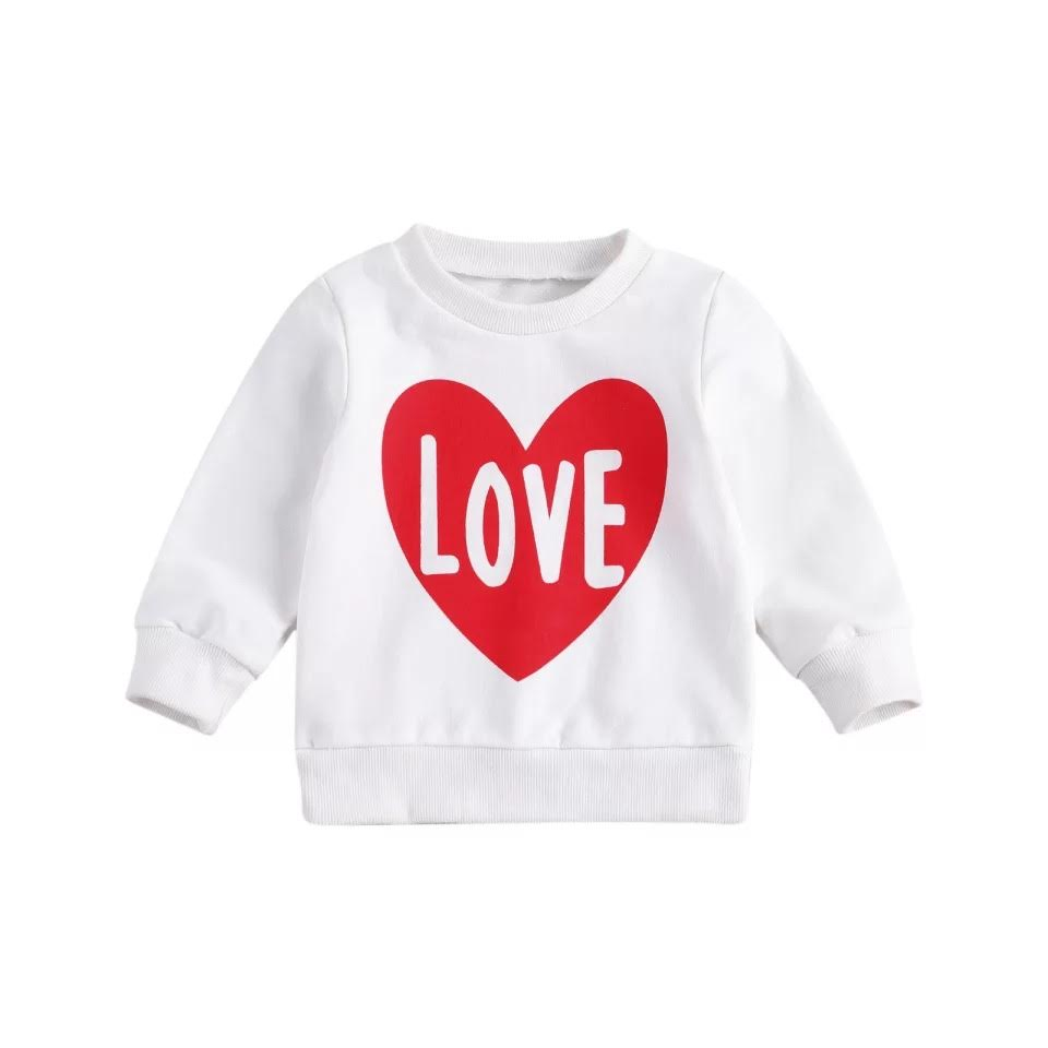 Love Crewneck Sweatshirt