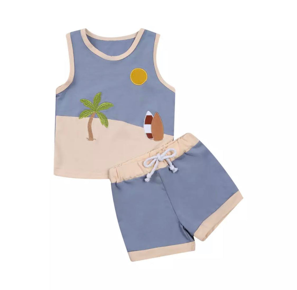 Retro Beach Bum Set
