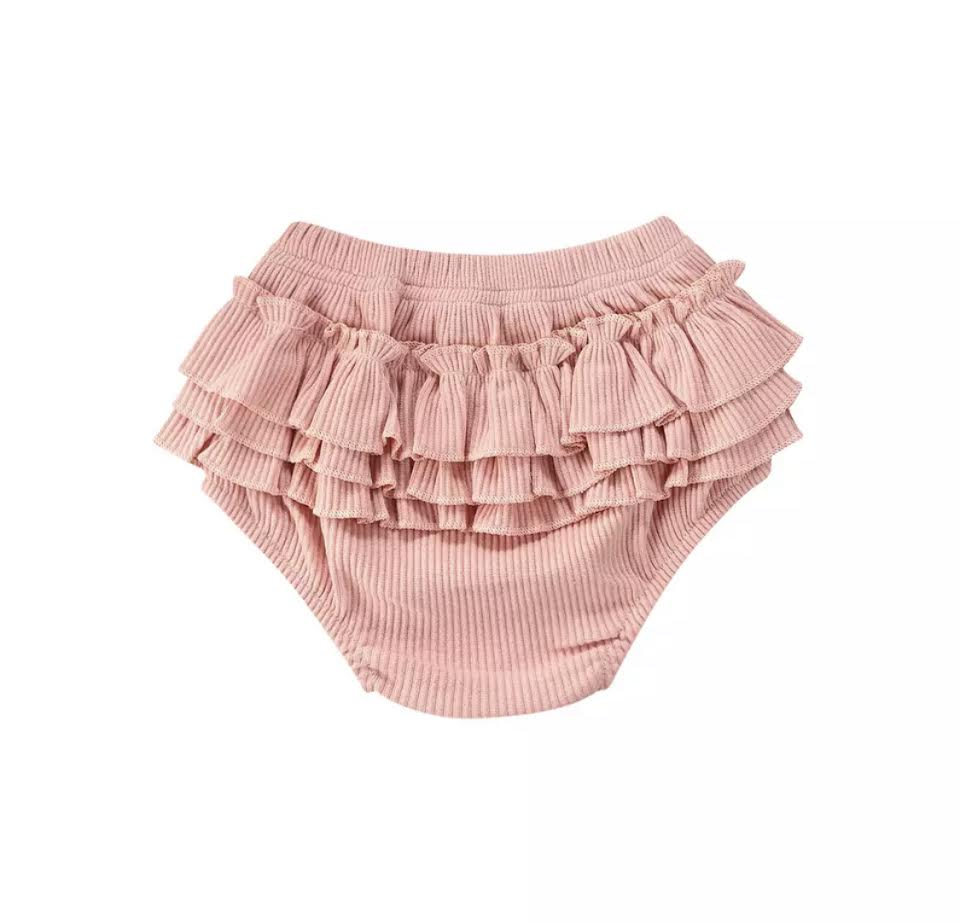 Maria Ruffle Bloomers in Pink