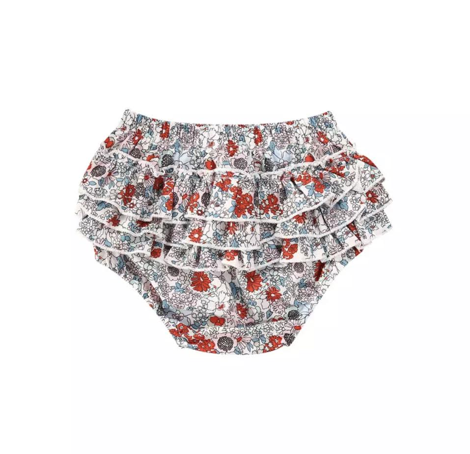 Maria Ruffle Bloomers in Floral