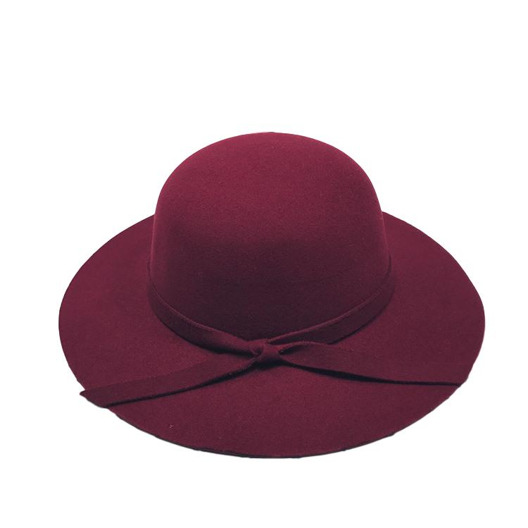 Blaire Burgundy Hat