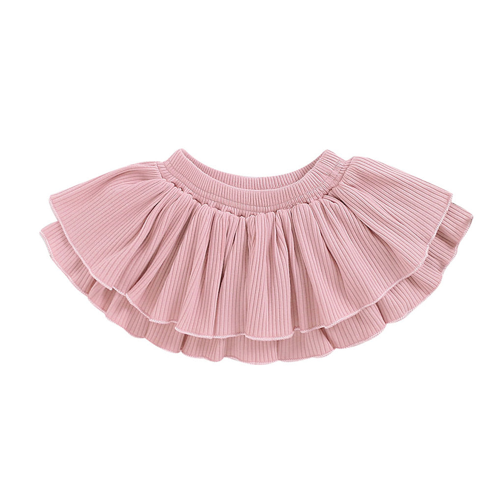 Blush Ruffle Skirt