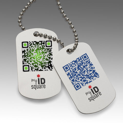 Squid Dog Tags
