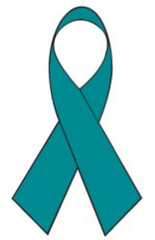 Teal Ribbon - Scleroderma