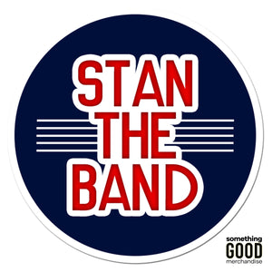 Stan the Band Sticker