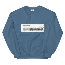 Load image into Gallery viewer, Mermaid Melody Search Bar Sweatshirt