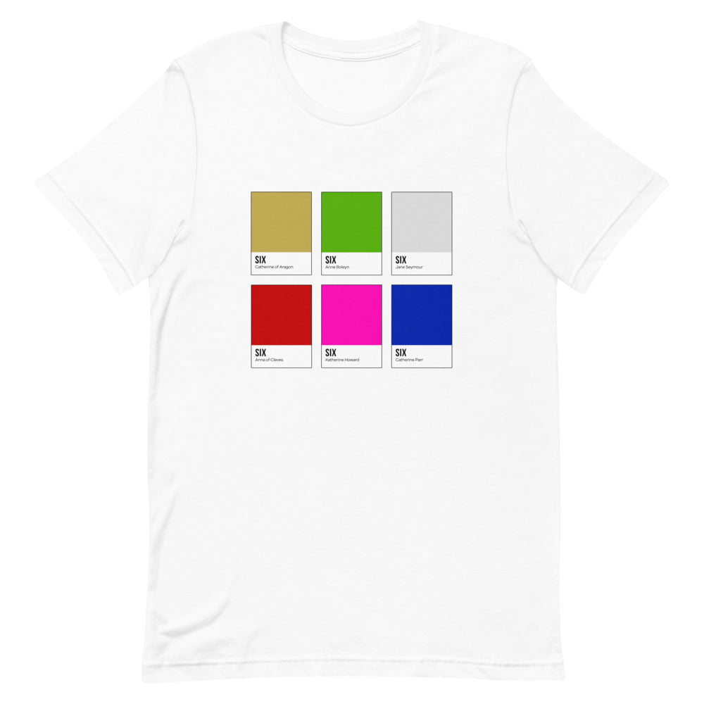 English Royals Color Chip T-Shirt