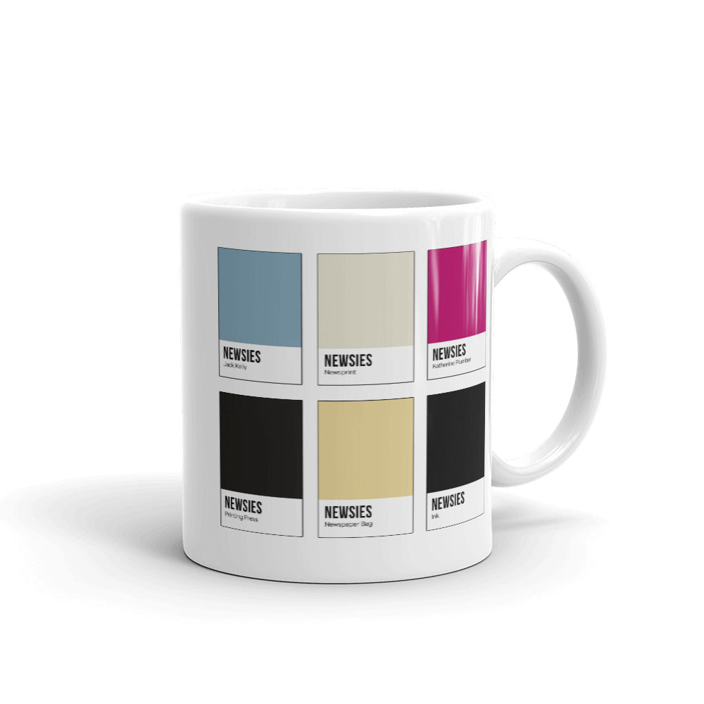 Citywide Strike Color Chip Mug