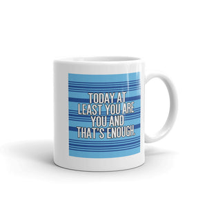 You Are Enough Patterned Mug