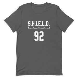 Commando Descendant Name and Number T-Shirt