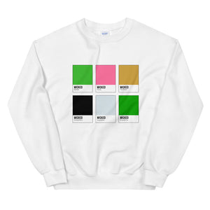 Ozian Color Chip Sweatshirt