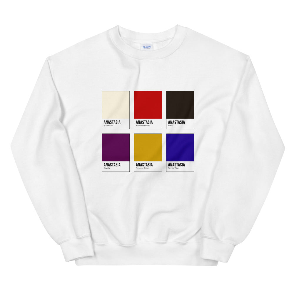 Missing Royalty Color Chip Sweatshirt